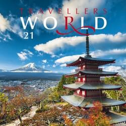 Kalendář 2021 - Trawellers world, nástěnný