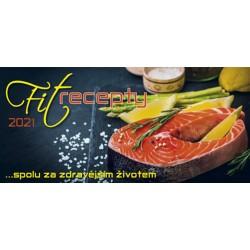 Kalendář 2021 - Fit recepty, stolní