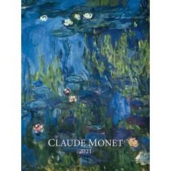 Kalendář 2021 - Claude Monet, nástěnný