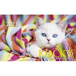 Kalendář 2021 - Kočky, stolní