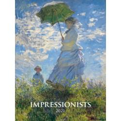 Kalendář 2021 - Impresionists, nástěnný