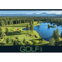 Kalendář 2021 - Golf, nástěnný