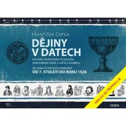Dějiny v datech: Od roku 1526 do současnosti - Politika, hospodářství, kultura zemí Koruny české a světa v souběhu
