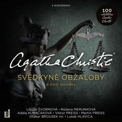 Svědkyně obžaloby a další povídky - CDmp3