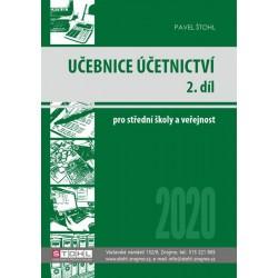 Učebnice Účetnictví II. díl 2020