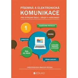 Písemná a elektronická komunikace - desetiprstová hmatová metoda
