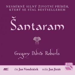 Šantaram - 3 CD (Čte Jan Vondráček)
