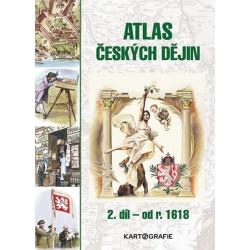 Atlas českých dějin - 2.díl od r. 1618