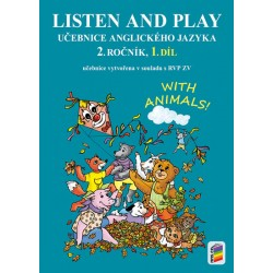 Listen and play - WITH ANIMALS!, 1. díl (učebnice)