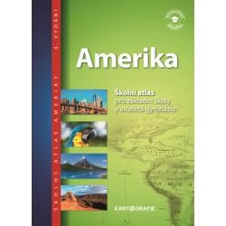 Amerika - Školní atlas pro základní školy a víceletá gymnázia