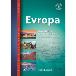 Evropa - Školní atlas pro základní školy a víceletá gymnázia
