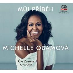 Můj příběh Michelle Obamová - 2 CDmp3 (Čte Zuzana Stivínová)