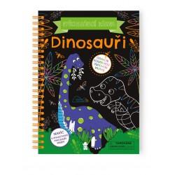 Vyškrabávací zábava: Dinosauři