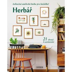 Herbář: Jedinečná umělecká kniha pro každého! 21 obrazů k zarámování