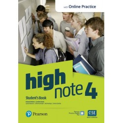 High Note 4 Student´s Book with Pearson Practice English App