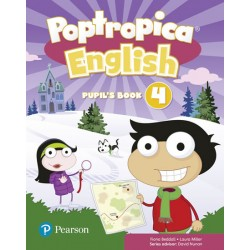 Poptropica English 4 Pupil´s Book and Online World Access Code Pack