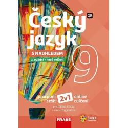 Český jazyk 9 s nadhledem 2v1 - Hybridní pracovní sešit