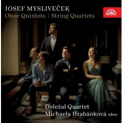 Hobojové kvintety, smyčcové kvartety - CD