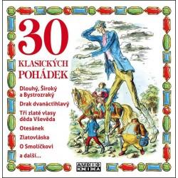 30 klasických pohádek - CDmp3
