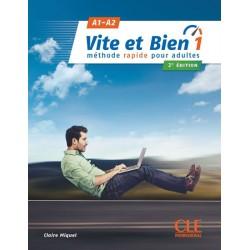 Vite et bien 1: Livre + CD audio + corrigés, 2ed