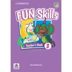 Fun Skills 3 Teacher´s Book with Audio Download