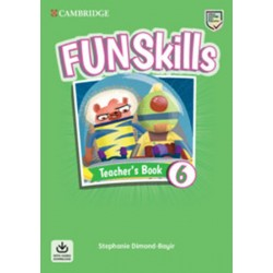 Fun Skills 6 Teacher´s Book with Audio Download