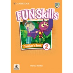 Fun Skills 2 Teacher´s Book with Audio Download