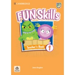Fun Skills 1 Teacher´s Book with Audio Download