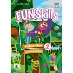 Fun Skills 2 Student´s Book with Home Booklet and Downloadable Audio