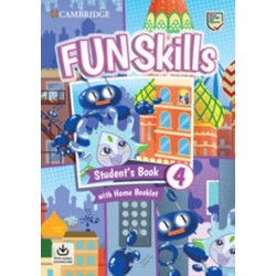 Fun Skills 4 Student´s Book with Home Booklet and Downloadable Audio