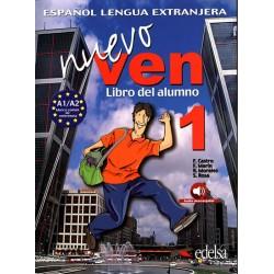Ven nuevo 1/A1 Libro del alumno + audio descargable