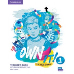 Own it! 1 Teacher´s Book with Digital Resource Pack