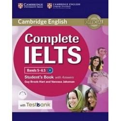Complete IELTS Bands 5/6.5 Student´s Book with Answers with CD-ROM with Testbank