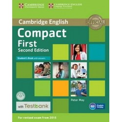 Compact First Student´s Book with Answers with CD-ROM with Testbank