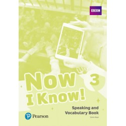 Now I Know 3 Speaking and Vocabulary Book