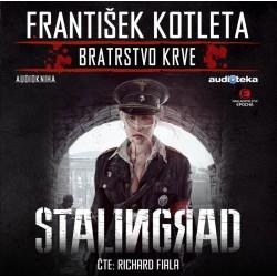 Stalingrad - Bratrstvo krve - CDmp3 (Čte Richard Fiala)