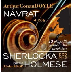 Návrat Sherlocka Holmese - 2 CDm3 (Čte Václav Knop)