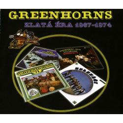 Greenhorns - Zlatá éra 1967 - 1974 3CD
