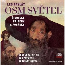 Osm světel - Židovské příběhy a pohádky - 2 CDmp3 (Čtou Arnošt Goldflam, Jan Potměšil, Jaroslav Kepka)