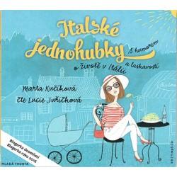 Italské jednohubky - CDmp3 (Čte Lucie Juřičková)