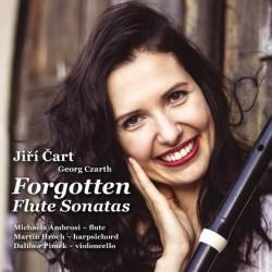 Forgotten Flute Sonatas / Zapomenuté flétnové sonáty - CD