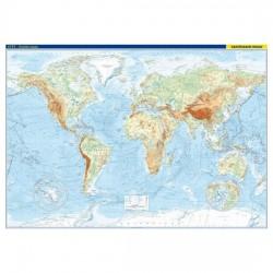Svět – fyzická mapa 1 : 22 000 000
