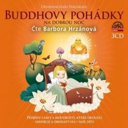 Buddhovy pohádky na dobrou noc - 3 CD