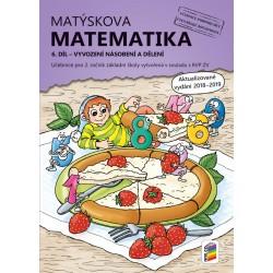 Matýskova matematika, 6. díl – počítání do 100 (vyvození násobení a dělení)