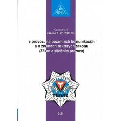 Zákon o provozu na pozemních komunikacích (Zákon o silničním provozu) č. 361/2000 Sb.