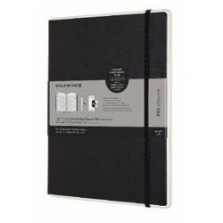 Moleskine: Smart plánovací zápisník 2020 paper tablet PRO XL WV black