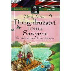Dobrodružství Toma Sawyera - Dvojjazyčné čtení Č-A