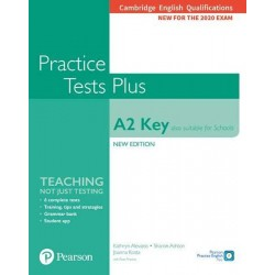 Practice Tests Plus A2 Key Cambridge Exams 2020 (Also for Schools). Student´s Book without key