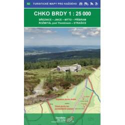 CHKO BRDY 1:25 000/Turisticé mapy pro každého č. 52