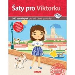 Šaty pro Viktorku - 300 samolepek pro tvé české panenky